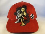 Animorphs baseball cap front red jake tiger