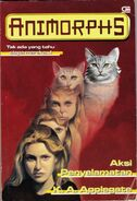 Animorphs book 2 indonesian cover Aksi Penyelamatan