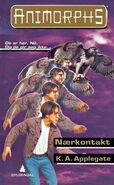 Animorphs 3 the encounter Naerkontakt Norwegian cover