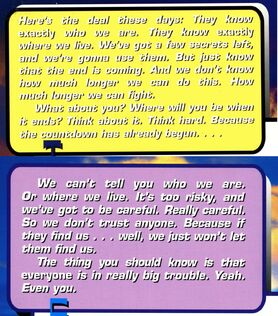 Old and new animorphs back cover summary compare 51 42