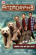 Animorphs 25 the extreme Những con ma đảo tuyết vietnamese cover book 39