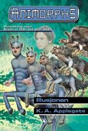 Animorphs 33 the illusion Illusjonen Norwegian cover