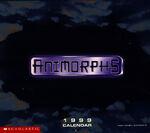 Animorphs 1999 calendar cover