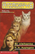 Animorphs 2 the visitor el visitante spanish cover emece