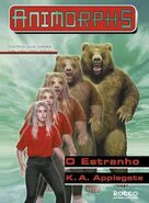 Animorphs 7 the stranger O Estranho brazilian cover Rocco