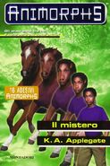 Animorphs 14 the unknown Il mistero italian cover