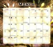 4 2000 calendar March month