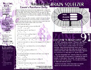 Animorphs flash 5 brain squeezer based on book 14 unknown
