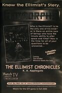 Ellimist Chronicles ad from inside book 47