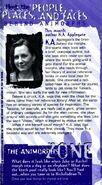 K A Applegate bio from animorphs flash newsletter 1