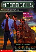 Animorphs 21 the threat cover with watch tv logo
