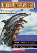 Animorphs 4 (The Message) E-Book Cover