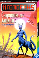 Animorph andalite chronicles french cover