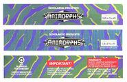 Animorphs Gameboy box sides