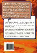 Animorphs 6 the capture La Captura Spanish back cover Emece