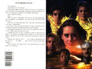 Animorphs the beginning book 54 inside cover and quote
