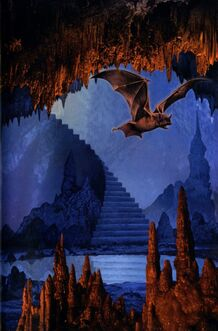 Animorphs underground book 17 inside cover bat