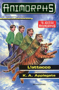 Animorphs 26 the attack L attacco italian cover