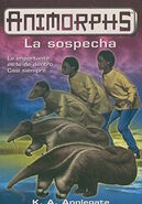 Animorphs 24 the suspicion La sospecha spanish cover Ediciones B