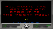 Hawk rescue Level 4 you found last key made it to yeerk pool