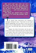 Animorphs book 39 The Hidden back cover