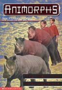 Animorphs 16 The Warning front cover