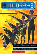 Animorphs 19 The Departure ebook cover
