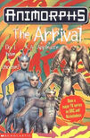 Animorphs 38 the arrival UK cover