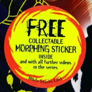 Vhs 1.7 sticker free collectible morphing sticker