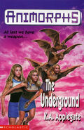 Animorphs 17 underground UK cover earlier printing