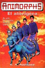 Animorphs 8 the alien El alienigena Spanish cover Ediciones B