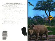 Animorphs 16 the warning inside cover and quote