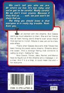 Animorphs book 4 The Message back cover