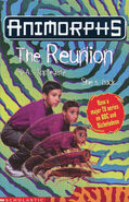 Animorphs 30 The Reunion UK cover
