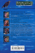 Animorphs 01 Die Invasion german back cover