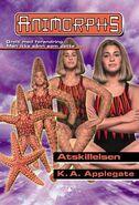 Animorphs 32 the separation Atskilelsen Norwegian cover