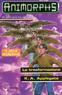 Animorphs 13 the change La trasformazione italian cover