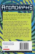 Animorphs 30 the reunion UK back cover