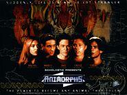 Animorphs vhs australian volume 1.1 inside poster