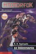 Animorphs 3 the encounter Az összecsapás hungarian cover