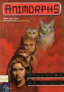 Animorphs 2 the visitor Przbysz polish cover