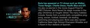 Boris cabrera marco bio on scholastic animorphs cast info