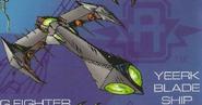 Yeerk blade ship from journal