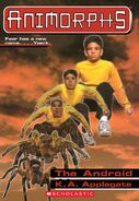 Animorphs 10 the android ebook cover