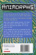 Animorphs 16 the warning UK back cover later