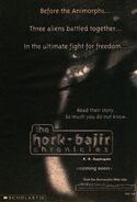 Hork Bajir Chronicles ad from inside Book 21