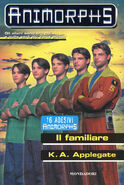 Animorphs 41 the familiar Il familiare italian cover