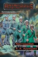 Animorphs 46 the deception Narrespillet Norwegian cover
