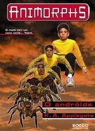 Animorphs 10 the android O androide brazilian cover Rocco
