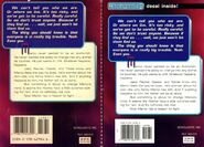 Animorphs 5 the predator 2 front and back covers with decal diff printings